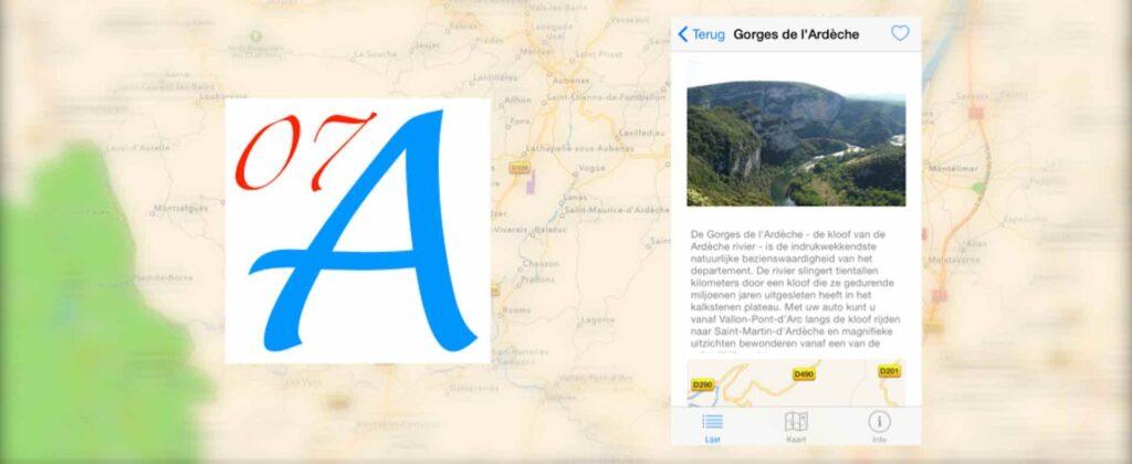 L'Ardèche du Sud iOS appli