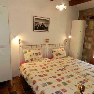 De andere slaapkamer van vakantiehuis Bergerie