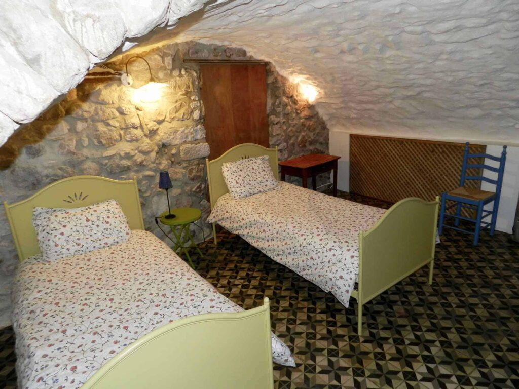 Zweites Schlafzimmer Gîte du Moulin