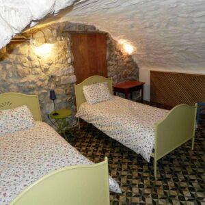 Deuxième chambre à coucher Gîte du Moulin