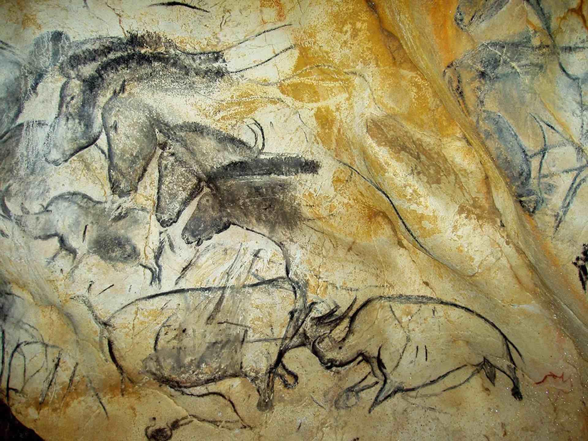 35000-Jahr alte Malereien in der Caverne du Pont d'Arc