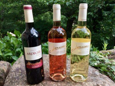 Ein Trio Wein