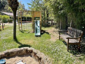 Playground with sandbox